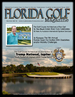 Ron Garl in Florida Golf Magazine