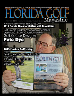 Pete Dye in Florida Golf Magazine