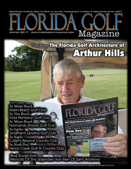 Arthur in Florida Golf Magazine